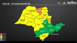 Plano SP: Região de Ribeirão permanece na fase amarela