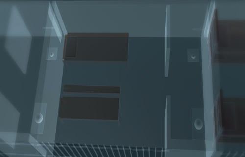 Arte EPTV - Arte da EPTV mostra como é a cela na superintendência da PF superintendência do órgão (Arte EPTV)