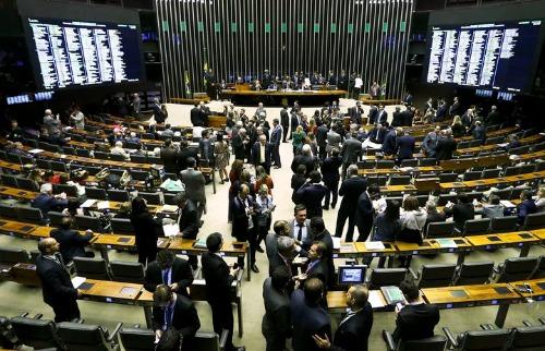 Marcelo Camargo/Agência Brasil - Plenário da Câmara de Deputados