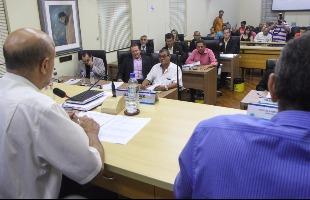 Tribuna Araraquara - Plenário durante sessão da Câmara de Araraquara (Foto: Amanda Rocha/Tribuna - 22.mar.2016)