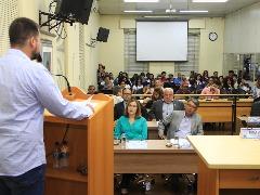 Plenário mais uma vez ficou lotado na Câmara de Araraquara (Divulgação/Câmara) - Foto: Da reportagem