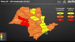 Ocupação de UTI´s levou Ribeirão Preto à fase laranja