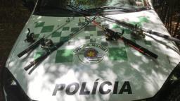 Piracema: Trio é autuado por pesca ilegal no rio Pardo