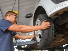 Pneus são um dos principais itens de segurança em um veículo (Amanda Rocha/ACidadeON) - Foto: Amanda Rocha/ACidadeON