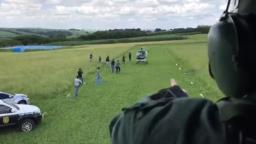 Traficante de Ribeirão é preso ao pousar de helicóptero em chácara