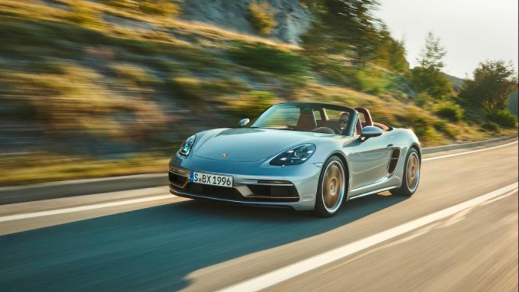 Porsche Boxster edição comemorativa dos 25 anos do lançamento - Foto: Divulgação