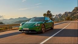 Taycan Cross é o segundo esportivo 100% elétrico da Porsche