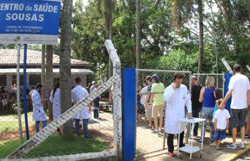 Luciano Claudino/Código 19 - Postos registraram aumento gigantesco em busca de vacinação