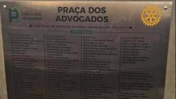 Câmara derruba veto da prefeitura para criação da Praça dos Advogados