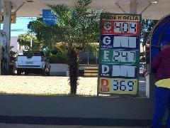 Preço da gasolina está aumentando semanalmente em Araraquara - Foto: Da reportagem