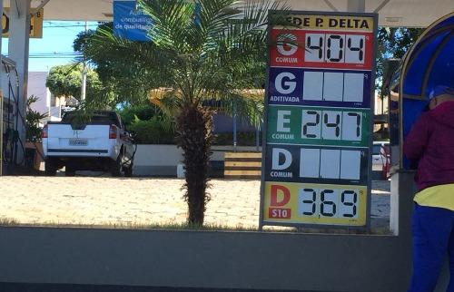 Da reportagem - Preço da gasolina está aumentando semanalmente em Araraquara