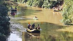 Lindoia faz faxina no Rio do Peixe e retoma a prática de rafting