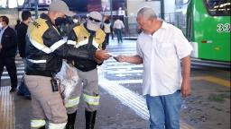 Serviços essenciais e transporte passam a impedir entrada de pessoas sem máscara
