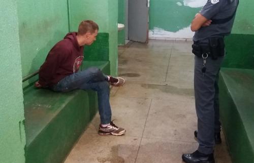 Integrante de 'gangue da marcha à ré' foi preso em Bonfim Paulista; veja mais fotos na galeria (foto: PH.Schneider / ACidade ON) - Foto: P.H.Schneider / ACidade ON