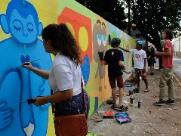 Botânico ganhará mural de graffiti em comemoração ao aniversário de Araraquara