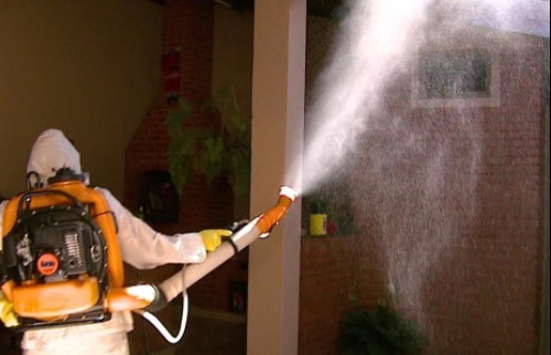Problemas também foram encontrados na nebulização contra a dengue - Foto: Da reportagem