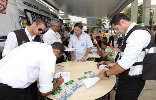 Divulgação/Prefeitura - Procon atende também em unidades móveis