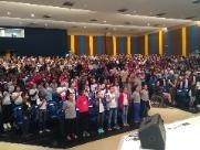 Formatura do Proerd reúne mais de 700 alunos no auditório do Cear