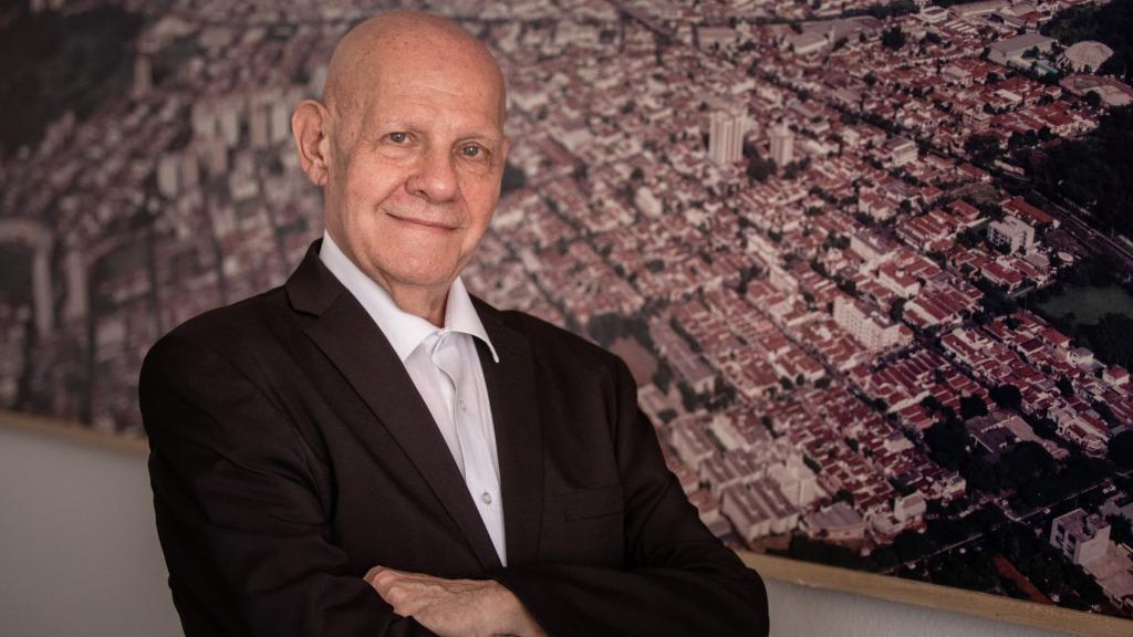 Professor Vicente Golfeto (Foto: Weber Sian / ACidade ON) - Foto: ACidade ON - Ribeirão Preto