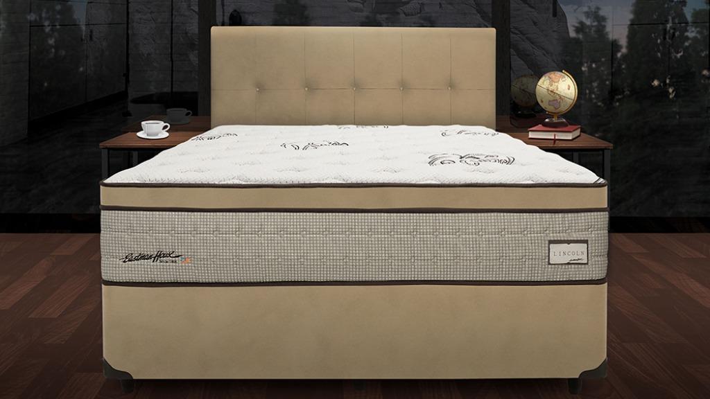Linha Americana Eastman House  modelo New Lincoln da Prohouse Colchões: a qualidade de vida está intimamente relacionada à qualidade do sono e do colchão. Crédito: Divulgação - Foto: ACidade ON - Araraquara