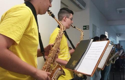 Da reportagem - Projeto Guri oferece aulas de música gratuitas