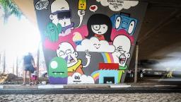 Em alta, grafite é alternativa contra o cinza urbano