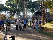 Grupo faz ato contra construção de barragem em Pedreira