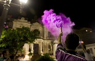 Milena Aurea / A Cidade - Protesto ocorreu em frente ao Palácio Rio Branco