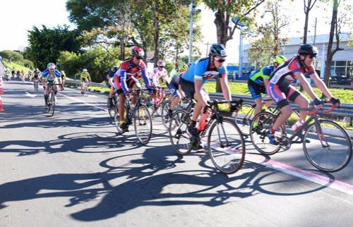 Divulgação - Prova de ciclismo vai alterar trânsito na Norte-Sul. Foto: Divulgação