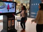 Provador Virtual está em exposição no Jaraguá