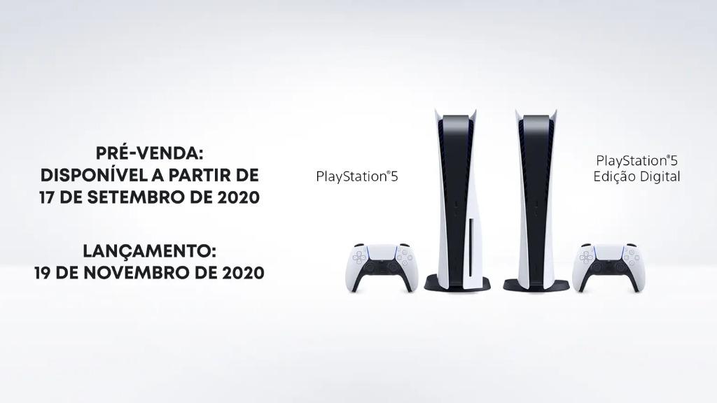 PS5 - Foto: Divulgação