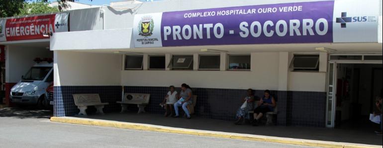 PS do Hospital Ouro Verde, em Campinas. (Foto: Denny cesare/Codigo19) - Foto: Denny cesare/Codigo19