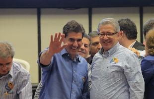F.L. Piton / A Cidade - PSDB oficializa Duarte Nogueira e Carlos Cézar Barbosa