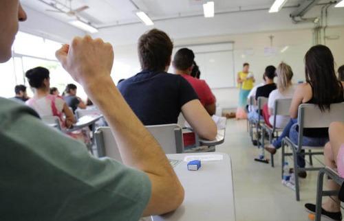 Estudantes durante prova do vestibular da PUC-Campinas - Foto: PUC-Campinas
