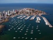 Punta del Este é badalado balneário de Uruguai
