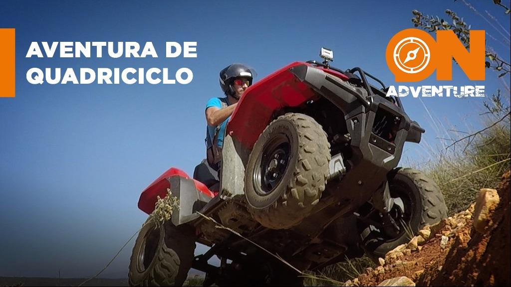 Sanner Moraes se aventurando em um quadriciclo pela Serra da Canastra na região de Capitólio-MG - Foto: Sanner Moraes