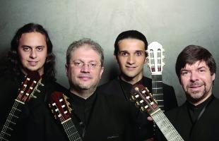 Tribuna Araraquara - Quarteto violões Quaternaglia será uma das atrações da Mostra (Foto: Divulgação)