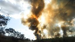 Fogo destruiu o equivalente a 10 mil campos de futebol na região