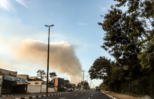 Queimadas Araraquara fogo incêndio (Foto: Amanda Rocha) - Foto: Amanda Rocha
