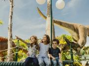 T-Rex Park apresenta preços especiais no mês das crianças