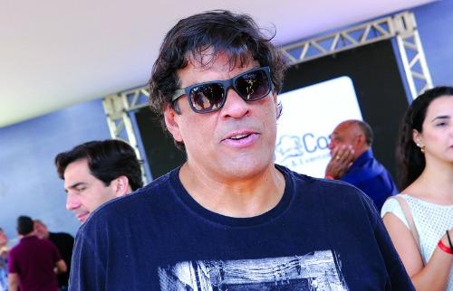 Murilo Corte / ME - Raimar de Oliveira prestigiou o lançamento do Botafogo; veja mais fotos na galeria