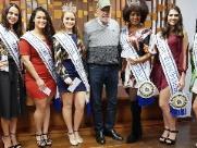 Rainhas e princesas da Festa do Clima e do Trabalhador recebem premiações