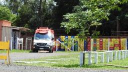 Jovem fica ferido após cair de telhado no Jardim Zavanella