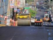 Prefeitura realiza recapeamento em ruas do Centro neste domingo (20)