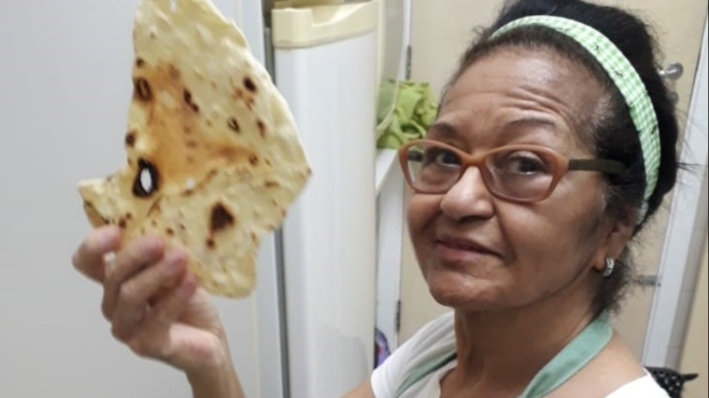 chapati - Foto: DIVULGAÇÃO
