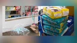 Homem é preso após furtar pacotes de fralda em farmácia