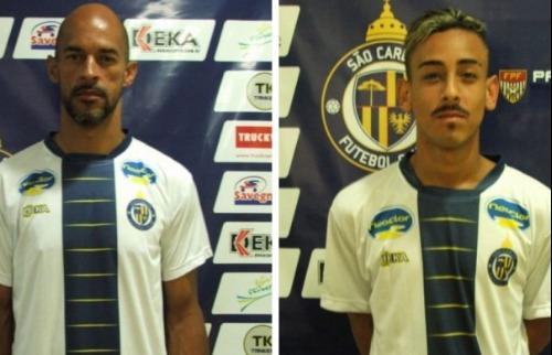 Divulgação - São Carlos confirma a contratação de Carlão e Romullo (foto: Rovanir Frias/ divulgação)