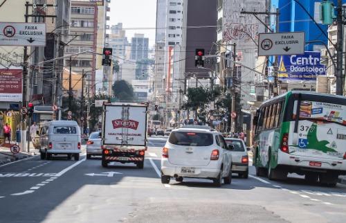Foto: Código 19 - Região central é uma das áreas com estacionamentos mais caros do município. Foto: Código 19