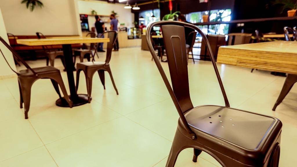 Restaurante decreto municipal  (Foto: Amanda Rocha) - Foto: Amanda Rocha