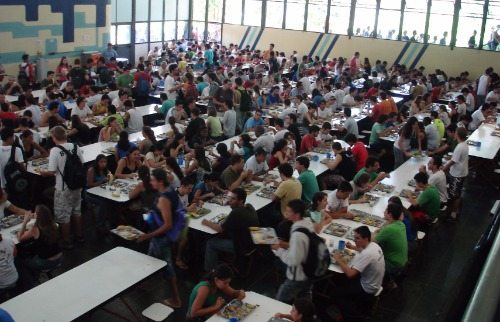Restaurante Universitário da Unicamp: sistemas tentam evitar filas e elaborar diagnóstico do público - Foto: Divulgação